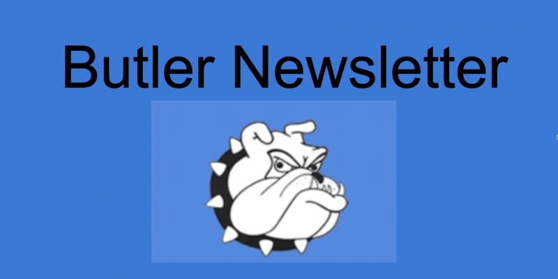 Butler Newsletter